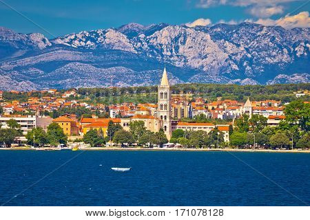 Zadar Waterfront View From The Sea