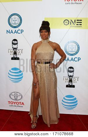 LOS ANGELES - FEB 11:  Regina King at the 48th NAACP Image Awards Arrivals at Pasadena Conference Center on February 11, 2017 in Pasadena, CA