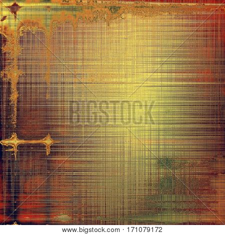 Retro background, antique texture for abstract vintage design composition. With different color patterns: yellow (beige); brown; green; gray; red (orange); pink