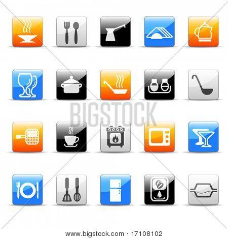 kitchen utensil icons