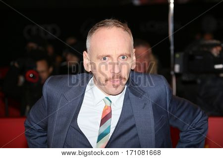 Ewen Bremner attend the 'T2 Trainspotting' premiere during the 67th Berlinale Film Festival Berlin at Palace on February 10, 2017 in Berlin, Germany.