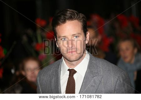 Armie Hammer attends the 'Final Portrait' premiere during the 67th Berlinale  Festival Berlin at Berlinale Palace on February 11, 2017 in Berlin, Germany.