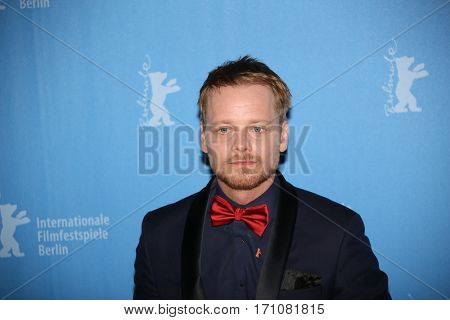 Stefan Konarske attend the 'The Young Karl Marx' (Le jeune Karl Marx) photo call during the 67th Berlinale Festival Berlin at Grand Hyatt Hotel on February 12, 2017 in Berlin, Germany.