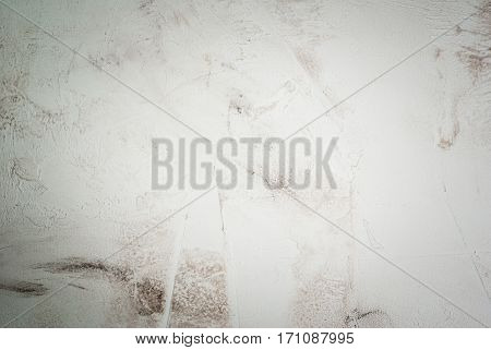 White stone concrete table background blank, top view copy space