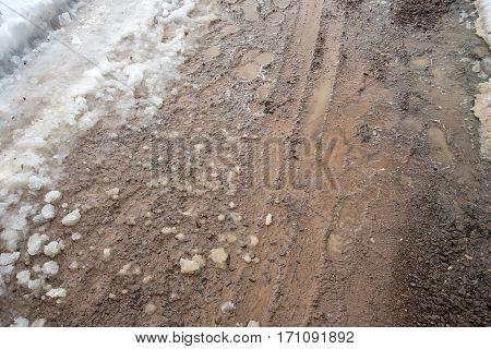 Footprints In The Slush
