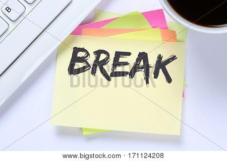 Break Work Lunch Working Relax Business Desk