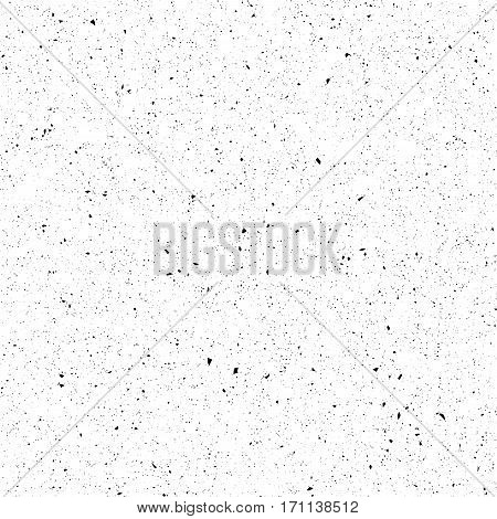 Scratch grunge background. Dirty urban texture. Distress grain pattern. Abstract grungy effect. Splattered aged pattern. Vector