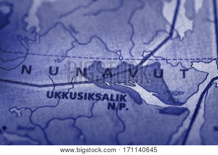 Nunavut On Map