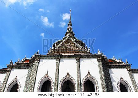 Stock Photo - Giant statue at Wat pra kaew, Grand palace ,Bangkok,Thailand.