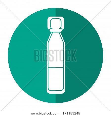 bottle vials medical healthy shadow vector illustration eps 10