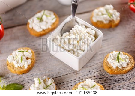 Bread Rusks Fine Toasted Appetizers