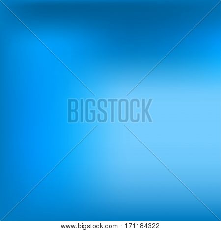 Bright colorful modern smooth juicy blue light gradient color abstract background . Vector illustration blurred color blur gradient business graphic image soft ethereal backdrop template