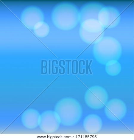 Bright colorful modern smooth juicy blue light gradient color abstract background  Vector illustration blurred color blur gradient business graphic image soft ethereal backdrop template