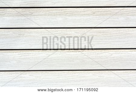 White Color Plastic House Wall.
