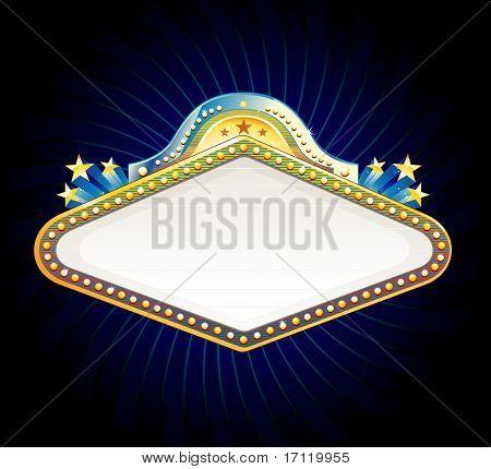Vegas casino sign