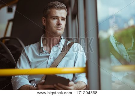 Man On A Bus