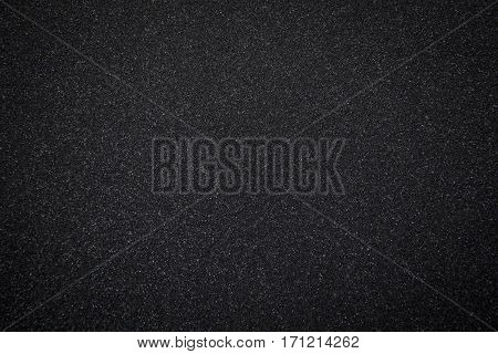 Texture of black sponge from speaker background