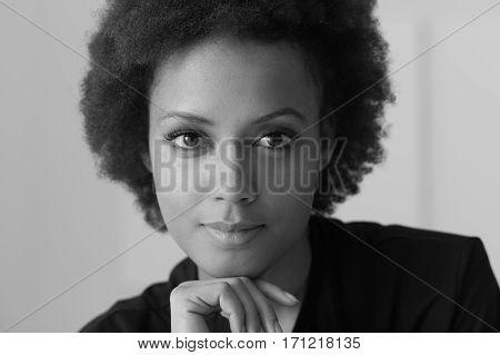 Confident Woman Posing