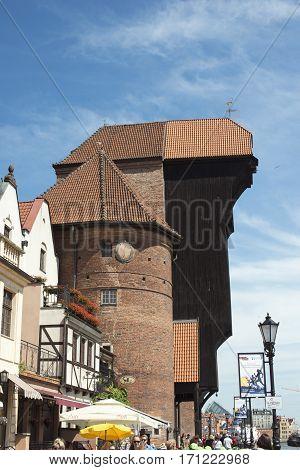 Treadwheel Crane, Gdansk