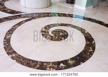 texture of the granite floor with an abstract pattern.