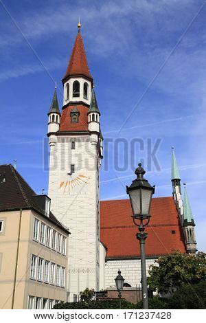 Old Town Hall With Tower, Munich
