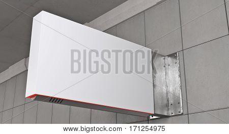 Horizontal White Stopper