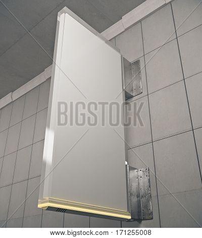 Vertical Grey Stopper