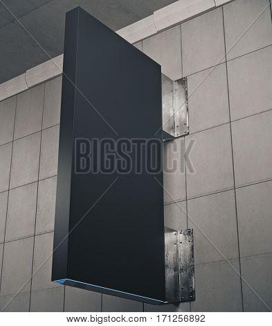 Vertical Black Stopper
