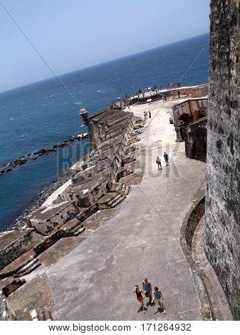 Castillo San Felipe del Morro Old San Juan Puerto Rico