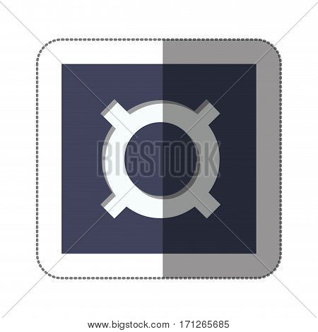 current currency symbol icon image, vector illustration design