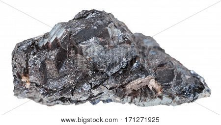 Raw Hematite (iron Ore) Stone Isolated