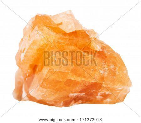 Specimen Of Chabazite Rock Isolated