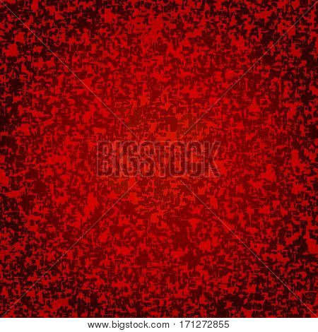 Red mottled background. Vector background with spots