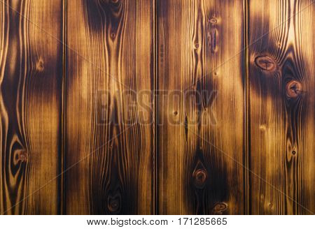 Burnt wood texture background, woodgrain texture, close up