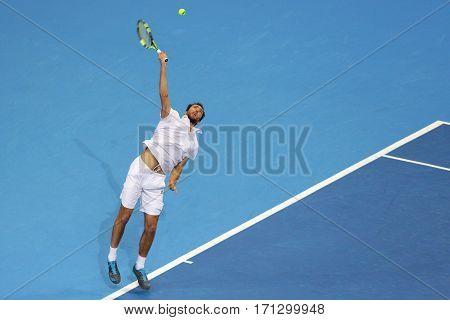 Tennis Player Jerzy Janowicz