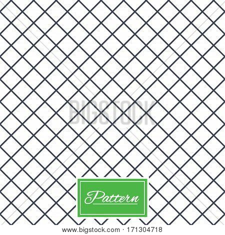 Rhombus lines texture. Stripped geometric seamless pattern. Modern repeating stylish texture. Abstract minimal pattern background. Vector