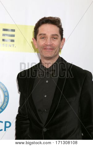 LOS ANGELES - FEB 11:  James Frain at the 48th NAACP Image Awards Arrivals at Pasadena Civic Auditorium on February 11, 2017 in Pasadena, CA