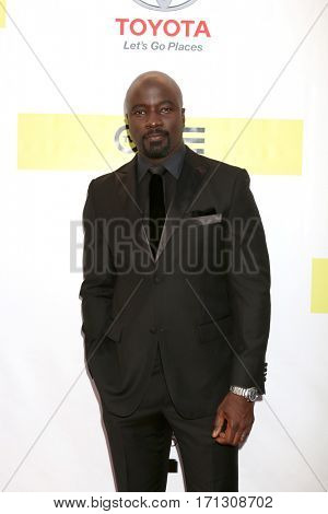 LOS ANGELES - FEB 11:  Mike Colter at the 48th NAACP Image Awards Arrivals at Pasadena Civic Auditorium on February 11, 2017 in Pasadena, CA