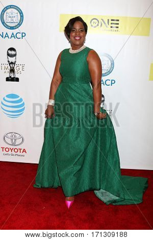 LOS ANGELES - FEB 11:  Roslyn M. Brock at the 48th NAACP Image Awards Arrivals at Pasadena Civic Auditorium on February 11, 2017 in Pasadena, CA
