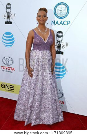 LOS ANGELES - FEB 11:  Ryan Michelle Bathe at the 48th NAACP Image Awards Arrivals at Pasadena Conference Center on February 11, 2017 in Pasadena, CA