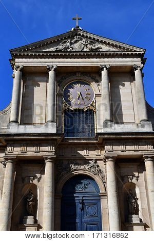 Versailles France - august 13 2016 : the cathedral Notre Dame