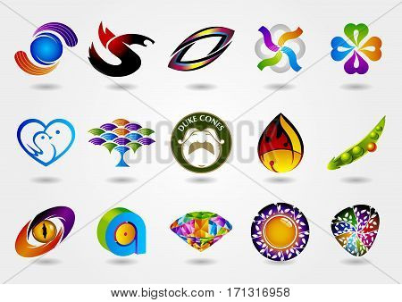 Logo set,logo collection,idea logo,creative logo design template,vector logo template