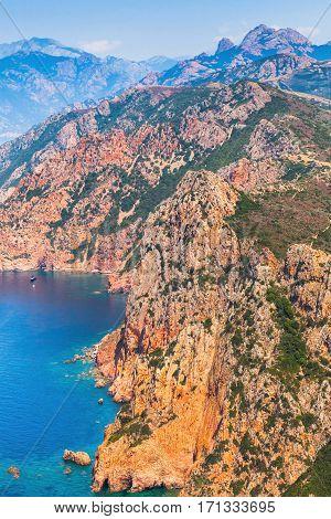 Mediterranean Island Corsica, Summer