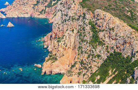 Corsica. Corse-du-sud, Piana Region