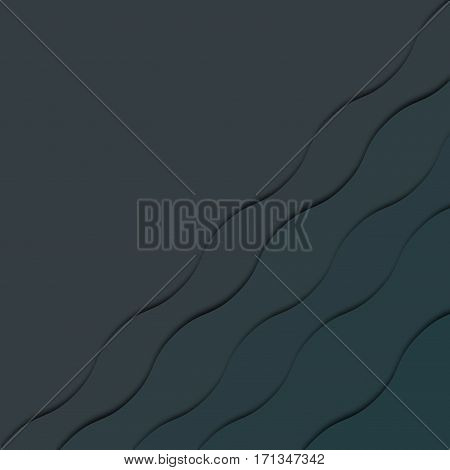 3d grey abstract  diagonal  layers background with soft realistic shadow effect. Volume layered background. Geometric design for banner, cover, invitation, brochure, flyer, template