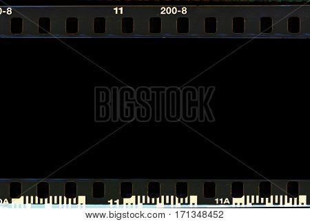 Real Film Border Strip Scan.