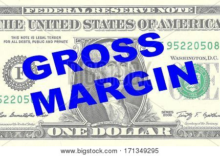 Gross Margin - Financial Concept