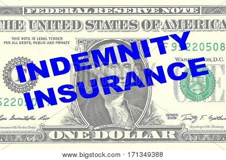 Indemnity Insurance - Financial Concept