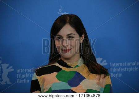 Actress Amira Casar attends the 'Call Me by Your Name' photo call during the 67th Berlinale International Film Festival Berlin at Grand Hyatt Hotel on February 13, 2017 in Berlin, Germany.