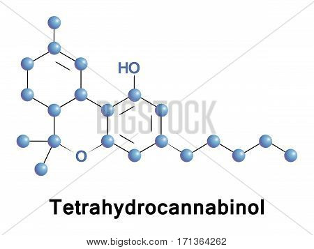 Tetrahydrocannabinol is the principal psychoactive constituent or cannabinoid of cannabis. THC in Cannabis is assumed to be involved in self-defense, perhaps against herbivores